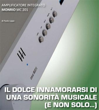 Monrio MC201, review by Fedeltà del Suono, Italy, January 2019